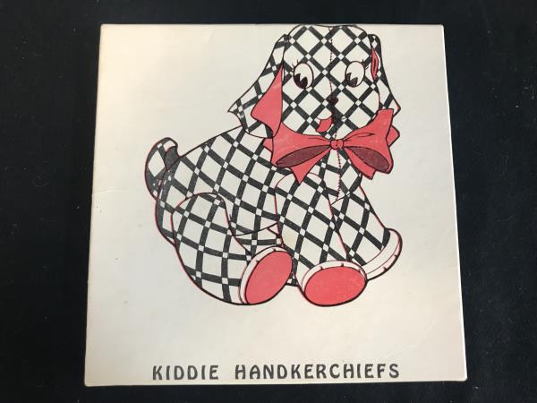 Boxed Set 2 Vintage Kiddie Handkerchiefs Original Box Never Used Children's