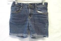 Girls Blue Jean Shorts w/ Elastic Waist Band by Mudd Size 12