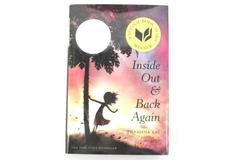 Inside Out and Back Again by Thanhhà Lai 2011 First Edition Hardcover