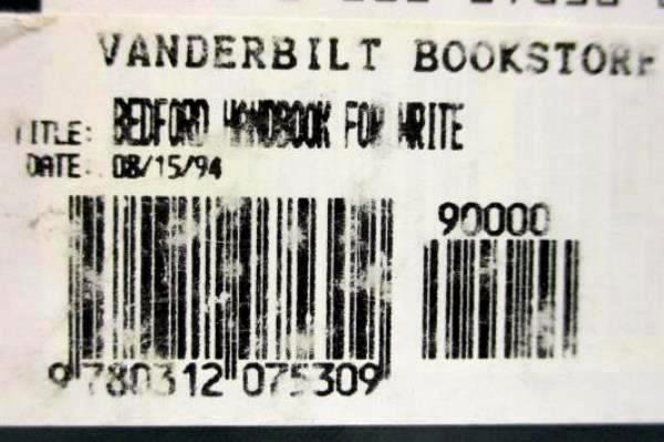 The Bedford Handbook for Writers 4th Edition Diana Hacker 1992