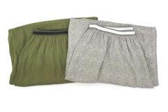 Lot of 2 Old Navy Women's Elastic Waist Modest Maxi Skirt Boho Lightweight Sz M