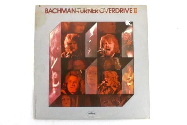 "Bachman Turner Overdrive II 1973 12"" Vinyl 33 RPM LP Record Mercury SRM-1-696"