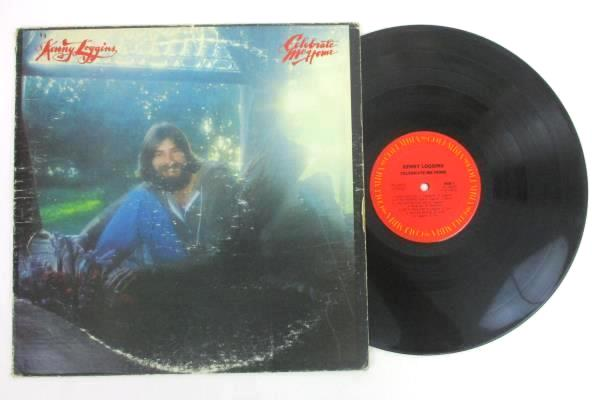 "Lot of 2 Kenny Loggins 12"" Vinyl 33 RPM LPs - ""Celebrate Me Home"" & ""Nightwatch"""