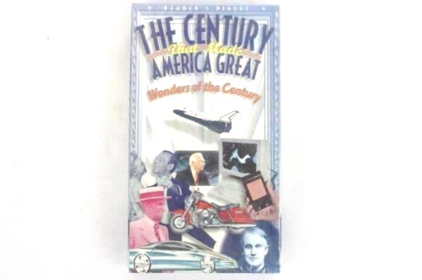Reader's Digest The Century That Made America Great VHS Three Tape Box Set