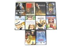 Lot of 10 Different DVDs Comedy Drama Family Movies Videos Sea Biscuit Big Daddy
