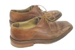 Bachrach Mens Leather Oxford Dress Shoes Brown Size 9 Made in italy