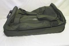 "Duffel-Suitcase High Sierra 30"" Handle Wheeled Drop Bottom Green/Black"