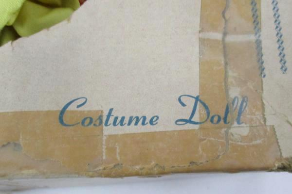 Vintage Costumed Doll From The House Of Dolls