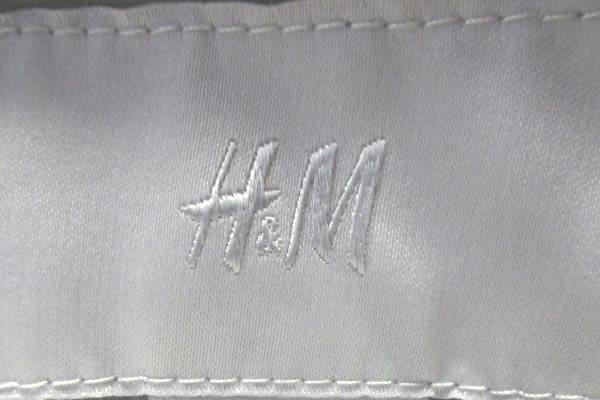 Girl's Grey White Inside Lining Dress Single Button Jacket By H&M Size 8