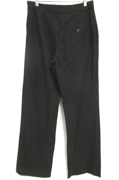 Women's Black Clasp Zipper Closure Dress Pants By Old Navy Size 8 Stretch