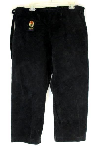 Pro Force Black Traditional Jacket and Pant Set 14 Oz Ultra Heavy Weight