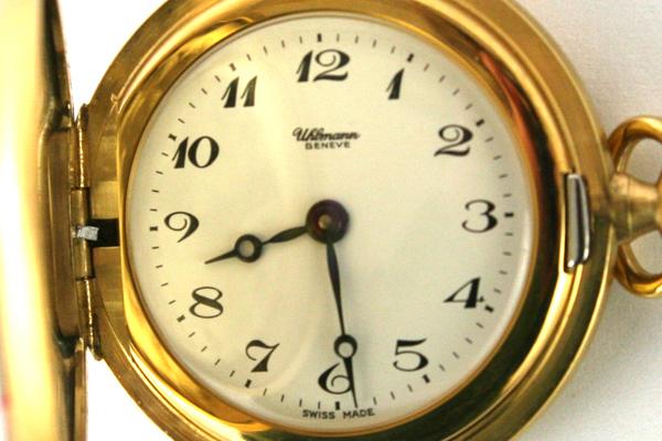 UHLMANN Beneze 17 Jewel Pocket Watch Ladies Pendant