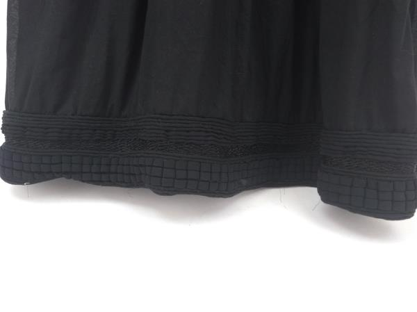 ADAM LIPPES Sundress Black Sleeveless Empire Waist Embroidered 100% Silk Sz 8