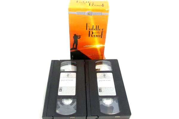 Lot of 3 VHS Musicals: The Sound Of Music, CATS, Fiddler On The Roof(2 Tape Set)