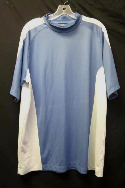 Short Sleeved Sport Shirt By Nike Golf Multi-Colored Men's Size XL