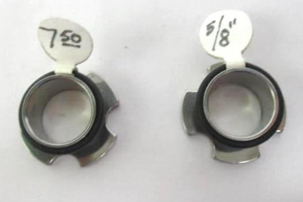 Pair Of Stainless Steel Tunnel Plug Ear Lobe Gauge Earrings 5 8 16mm Swedemom