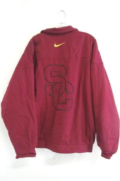Jacket Nike Team Sports SC Trojans Burgundy Polyester Men's L