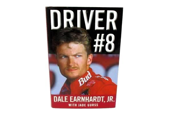 Driver #8 by Dale Earnhardt Jr with Jade Gursss 2002 Hardcover First Printing