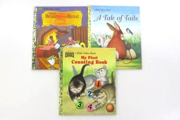 Lot of 8 Little Golden Books Dated 1960-1990