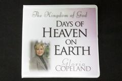 The Kingdom Of God Days Of Heaven On Earth - By Gloria Copeland 5 CD Set