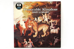 PEACEABLE KINGDOM Mary Lu Walker Album and Cover 1978