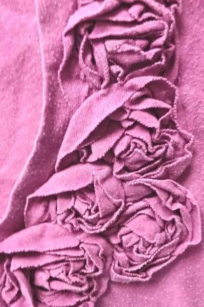 Women's Purple Long Sleeve Top By Merona Size M 60% Cotton