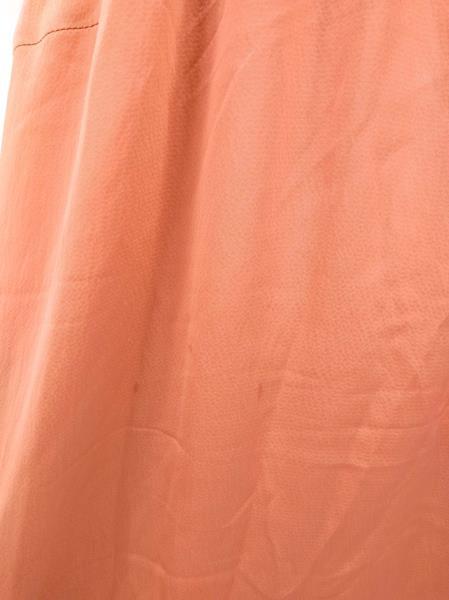 J CREW Serenade Dress Hammered Silk V Neck Sleeveless Cocktail Coral Sz 2