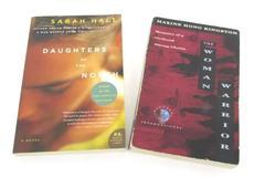 Lot of 2 Culture Women Empowerment Novels Books Maxine Hong Kingston Sarah Hall