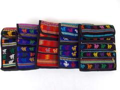 Lot of 5 Assorted Guatemalan Hand Woven Boho Mochila Crossbody Bags Med 10 x 8.5