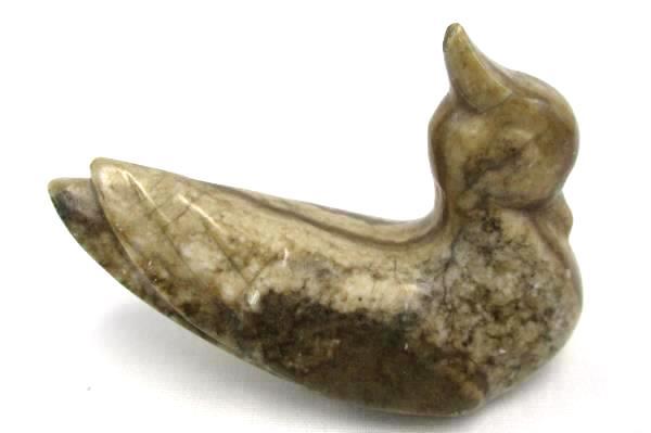 Scandinavia Gift Center of Westport Carved Stone Bird Paperweight Figurine