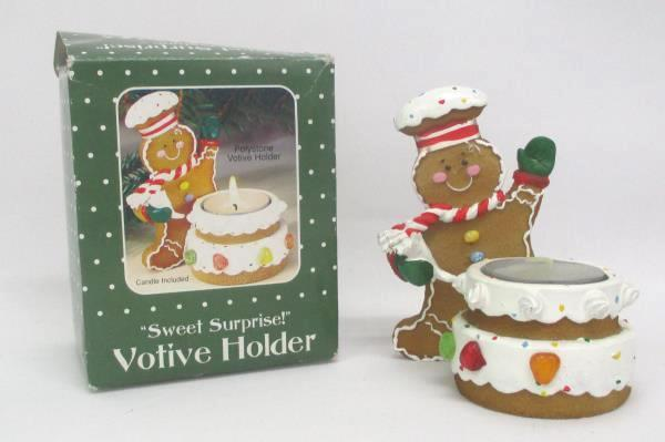Mixed Holiday Decor Lot Table Runner Wall Hanger Stocking Santa Place Mat Votive