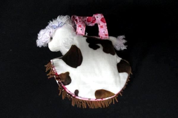 2011 Sassy Pet Saks Western Style Poodle Purse Handbag by Douglas Toys