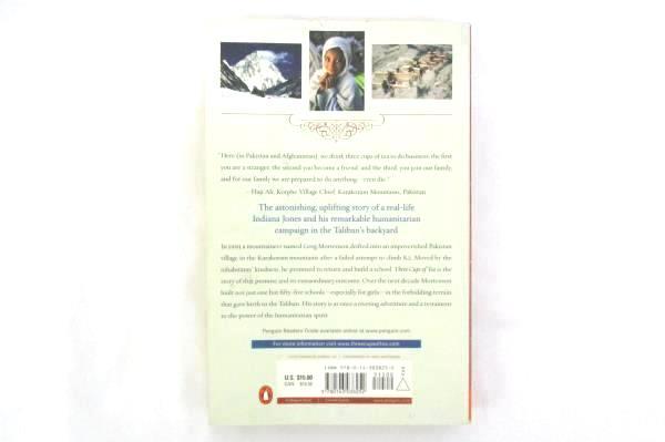GREG MORTENSON Three Cups of Tea Paperback 2006
