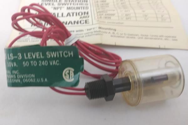Gems Sensors Single Station Level Switch 42295 LS-3 Polysulfone