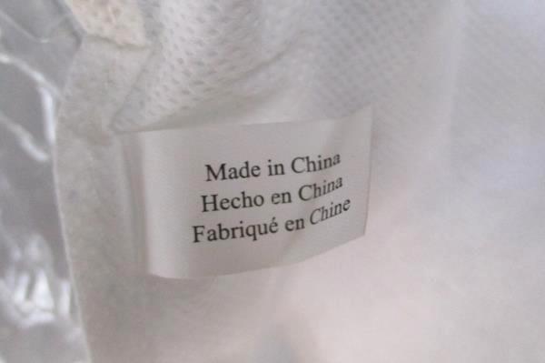Lot of 2 Hanging Shoe Organizers 10 Shelf Storage Solutions White Mesh Fabric