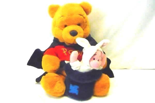 Walt Disney Winnie The Pooh Magician With Piglet Stuffed Animal