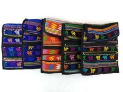 5pc Wholesale Lot Guatemalan Hand Woven Travel Mochila Crossbody Bags NEW