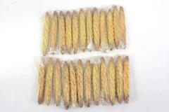 "Lot of 24 Mini Ceramic Baguette Bread Decor Pieces 5.5"" For Crafting DIY"
