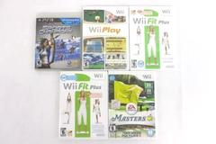 Lot of 5 Games Sports Champions PS3 Nintendo Wii Masters Fit(2) Play