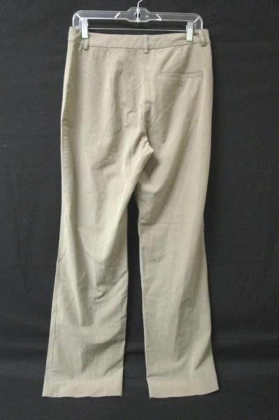 Women's Light Brown Loose Fit Stretch Zip Up Dress Pants By Old Navy Size 8