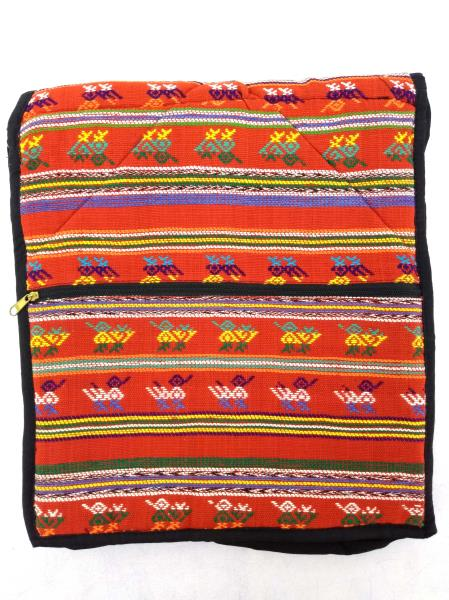 NEW Red Boho Festival Guatemalan Hand Woven Mochila Crossbody Bag Large