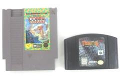 Lot of 2 Vtg Nintendo Games: Turok 2: Seeds of Evil N64 + Cobra Command NES
