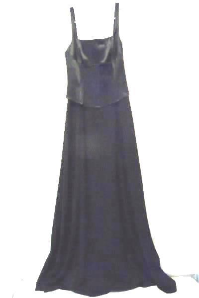 CACHE Girl's Junior's Formal Prom Evening Gown Black Sleeveless Size P