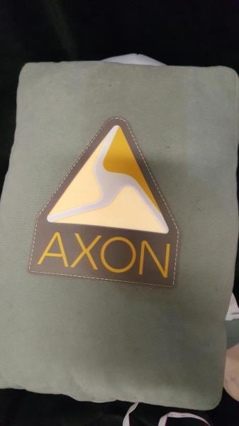 "AXON ASTRONAUT LIGHT UP PLUSH DOLL Electronics Mascot BOLDLY GO 25"" Man"