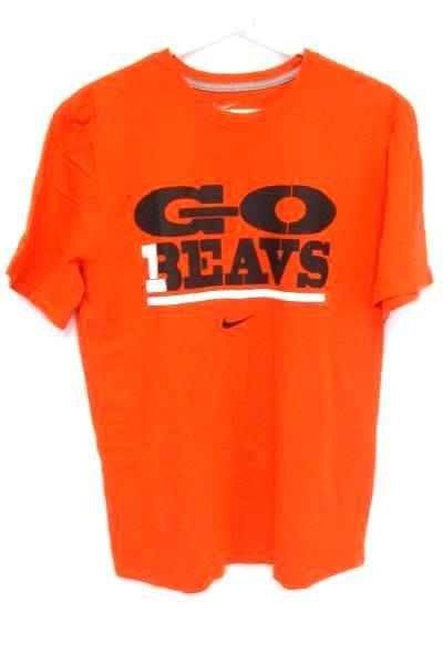 Nike Oregon State Beavers GO BEAVS Regular Fit T-Shirt Men's L