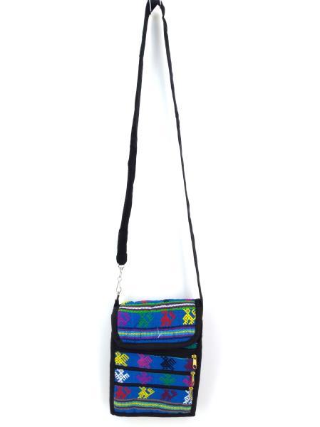 NEW 90s Guatemalan Hand Woven Boho Mochila Crossbody Bag Small #A