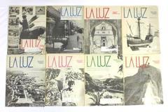 Lot of 8 LA LUZ Paper Vintage Magazine 1982