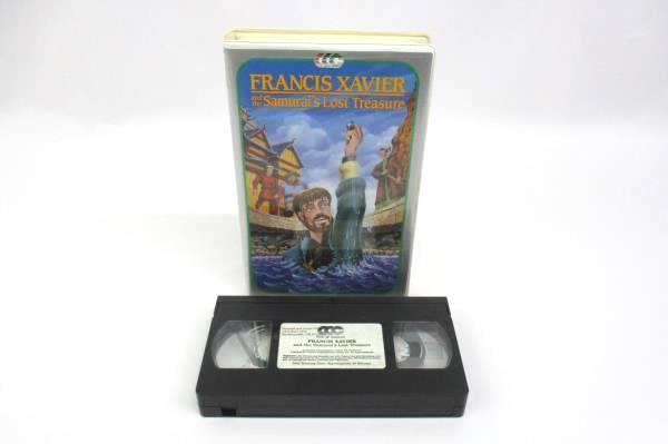 Lot of 2 VHS Movies Francis Xavier The Samurai's Lost Treasure The Odyssey