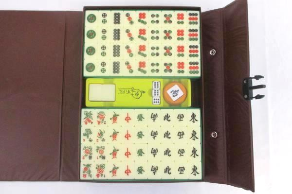 Mahjong Tile Game Set No 167 With Case 4 Players Skills Strategy Calculation