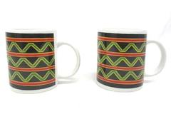 Lot of 2 Westwood Out Of Africa Mugs Ceramic